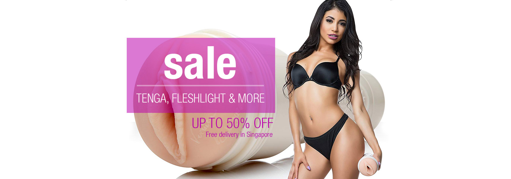 Tenga and Fleshlight Sale Free Delivery for Singapore